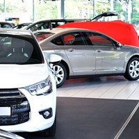 Cars on forecourt Blog